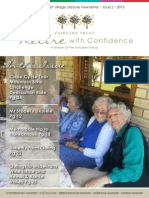 The Faircare Trust Village Lifestyle Newsletter ~ Issue 1 - 2015