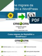 Come Migrare Da MediaWiki a WordPress