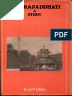 Tantra Paddhati a Study - N.P. Unni
