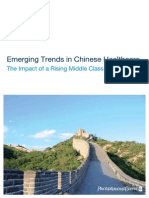 Emerging Trends in Chinese Healthcare