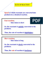 Definition n Factors (rate of reaction)