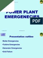 Power Plant Emergenecies