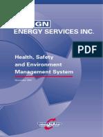 ESI HSE Handbook