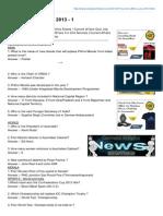 Keralapschelper.com-Current Affairs July 2013 1 (1)