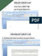 Membuat Drop Cap4