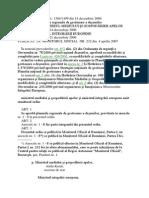 ORDIN  1364-1499-2006 de aprobare a planurilor regionale de gestionare a deşeurilor