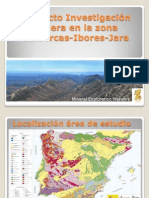 Proyecto Investigación Minera en la zona Villuercas-Ibores-Jara