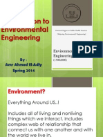 Introduction to Env Engineeing
