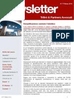 Newsletter T&P N°77