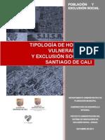 Tipologia de Hogares y Exclusion Social