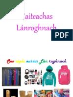 caiteachas l nroghnach