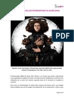 Explicacion fotomontajes Ausin Sainz. Galeria La Casarosa. Málaga.