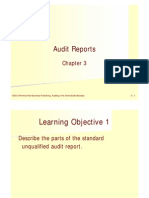 3. Audit Reports