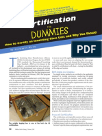 Certification for Dummies