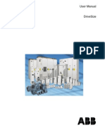 UserManual ABB Drive Size