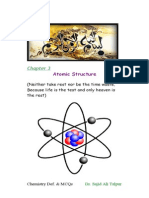 Definitions and MCQs of Ninth Class Chemistry (Atomic Structure)