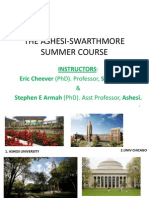 1-The Ashesi-swarthmore Summer Course