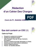 Cahier Des Charges d'Un Projet TIC