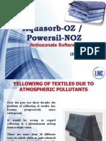 Aquasorb OZ--Antiozonates softner for denim fabrics.