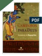 Caminhos Para Deus Ensinamentos Do Bhagavad Gita Ram Dass