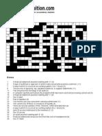 Auditing Crossword