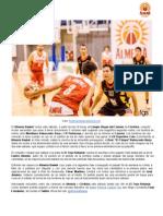 Previa Almería Basket - Colegio Virgen del carmen | Sábado 29/03/14 19h Pabellón El Toyo-Retamar