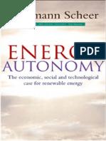 Energy Autonomy - Hermann Scheer
