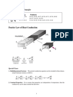 74891631 Fourier s Law of Heat Conduction