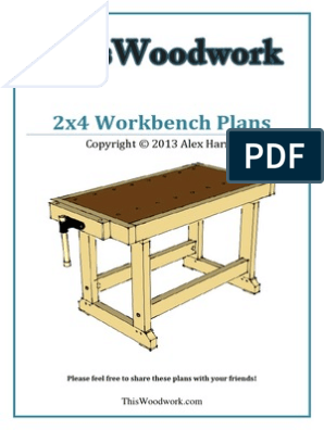 Workbench Plans Woodworking Business