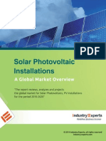 Solar Photovoltaic Installations – A Global Market Overview