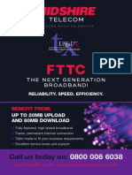 Midshire – FTTC – Telecoms Brochure