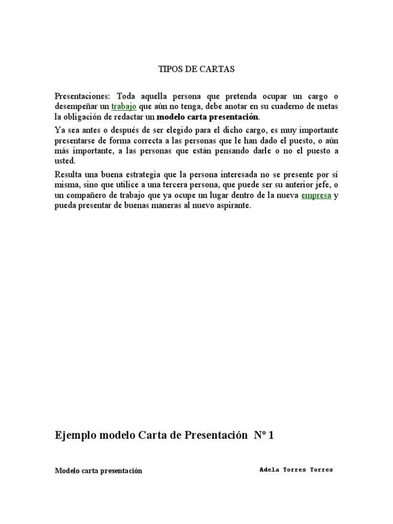 cartas presentacion - Etame.mibawa.co