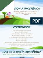 Presion Atmosferica - Francisco, Mateo, Miguel, Miguel