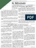 MLS De Minimis Vol 1. Issue 11