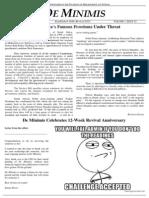 MLS De Minimis Vol 1. Issue 12
