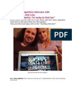 Kiss Army Argentina - Bruce Kulick and Lisa Lane Interview - March 2014