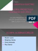 Rolul Curentului Electric