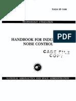Handbook of Industrial Noise Control