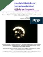 Meditatie in Intuneric