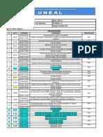 CRONOGRAMA METODOLOGIA DO ENSINO DE QUÍMICA 2014 1 UNEAL final