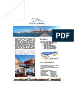 Fact Sheet Porto Marina