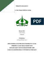 Cover Presentasi Kasus 1
