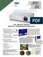 Panasonic PT-LB55 / LB60  Series