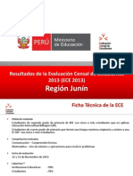 Difusión ECE 2013 - JUNIN vf
