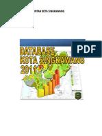 Database Kota Singkawang Tahun 2011