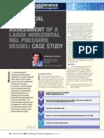 Mechanical Integrity Assessment - Pressurized LNG Vessel