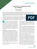 DEPRESION LA ACTIVACIÓN CONDUCTUAL Y LA DESMEDICALIZACIÓN