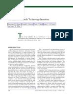 Advanced Materials Technology Insertion