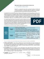 INFORME DE ESTUDIO DE MERCADOS  PARA EVALUACIÓN DE PROYECTOS