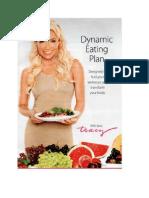 Tracy Andersons Dynamic Eating Plan Metamorphosis